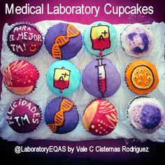 Biomedical Laboratory Science Art - Beautiful cupcakes by Vale Rodriguez