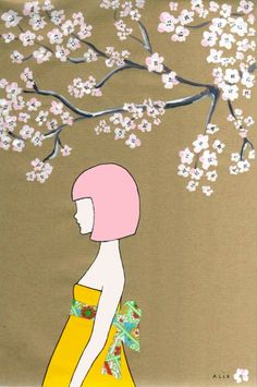 en época de sakura!