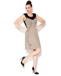 SWEETLY SHEER SHOULDER DRESS BEIGE ready to wear dresses no classes fashion  #betseyJohnson