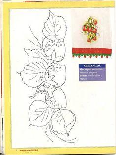 Pintura em Tecido- Gravuras e Riscos - Rose Pessoa - Álbuns da web do Picasa: