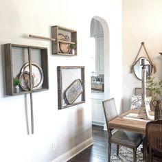 sifters as wall display