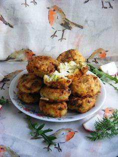 Cukkinis rizsfasírt Quiche, Feta, Cauliflower, Food And Drink, Vegetables, Healthy, Cauliflowers, Quiches, Vegetable Recipes