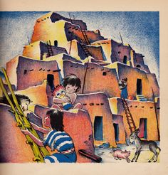 vintage kids Maud and Miska Petersham book by OnceUponABookshop