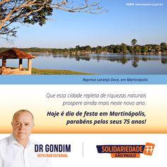 Que os próximos anos sejam marcados por mais desenvolvimento para Martinópolis. #FichaLimpa #77000 #DrGondim #votedrgondim77000