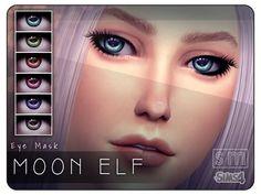 sims 4 cc custom content elf fantasy eye mask