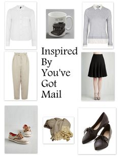 Get inspired by the cozy 90's fashions of the classic Meg Ryan and Tom Hanks film You've Got Mail.