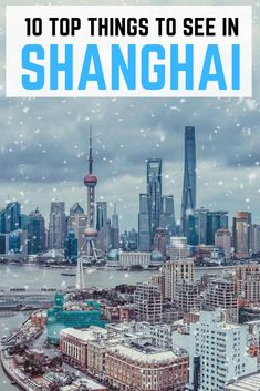 Top 10 attractions you should see in Shanghai, China - Reisen, sehen, essen Vietnam Travel, Asia Travel, Japan Travel, In China, China Trip, Shanghai Attractions, Amazing Destinations, Travel Destinations, Visit Shanghai