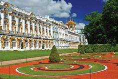 Palacio de Catalina, afueras de San Petersburgo, Rusia