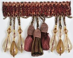 Refreshing tassel fringe burgundy/red/yellow trimming by Kravet. Best prices and free shipping on Kravet trims. Search thousands of products.