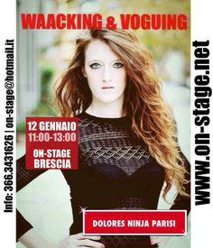 WAACKING & VOGUING con DOLORES NINJA PARISI « weekendinpalcoscenico la danza palco e web   IL PORTALE DELLA DANZA ITALIANA   weekendinpalcoscenico.it