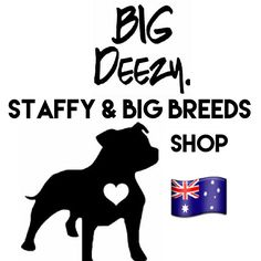 Big Deezy's Staffy and Bully Breed Shop Australia. www.BigDeezy.com // @bigdeezydotcom  #bigdeezydotcom #staffies #pitbulls #bullybreeds #staffy #staffordshirebullterrier #custom #clothes #printing #pets #Dogs #adoptdontshop #dontbullymybreed #shop Bully Breed, Staffordshire Bull Terrier, Custom Clothes, Bullying, Pitbulls, Adoption, Printing, Australia, Pets