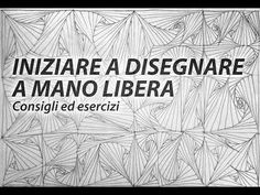 Iniziare a disegnare a mano libera - Consigli ed esercizi - YouTube Tole Painting, Painting & Drawing, Beginner Painting, Chiaroscuro, Painting Videos, Learn To Draw, Art Techniques, Art Tutorials, Pencil Drawings
