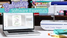 Take the stress out of machine embroidery software as you learn everything you've always wanted to know about creating and customizing designs! - via @Craftsy