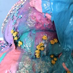 "☽ Glitter Tomb ☾ - Obsessed with Arianne Wilson's ""Blobs"""