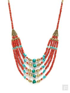 Tribal Beaded Necklace Online | Buy HOTBERRIES JEWEL Necklace India.