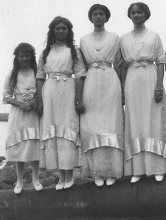 Grand Duchesses of Russia - Tatiana, Maria, Olga, Anastasia