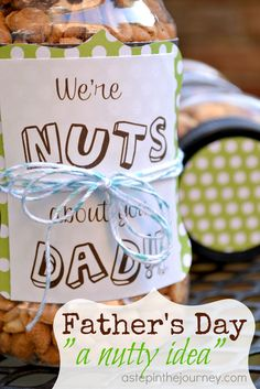 We're NUTS about you!
