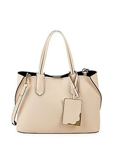 7d5031fb6d73a5 Calvin Klein Small Jacky Leather Tote Shopping Totes, Luggage Bags, Calvin  Klein, Shoulder