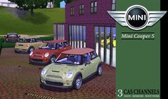 #Sims3 Mini Cooper S ~ Leefish  ~~~ Now I just  need a Fiat for Sims 3