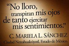 c. mariela L. Sanchez No lloro