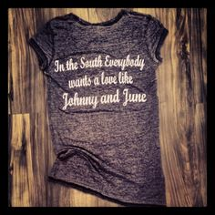 In the South everybody wants a love like Johnny and June