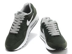 the best attitude 78e3a 4901c £69.99 Nike Air Max 1 EM Mens Dark Green White