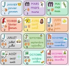 Preschool Writing, Preschool Learning Activities, Fun Activities For Kids, Teaching Kids, French Language Lessons, French Lessons, French Classroom Decor, Basic French Words, Weather Vocabulary