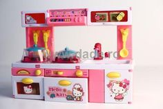 Bucatarie Hello kitty-big Toy Chest, Storage Chest, Hello Kitty, Toys, Big, Furniture, Home Decor, Homemade Home Decor