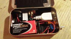Altoids box usb charger