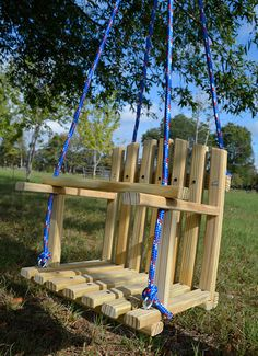 Wooden Child's Swing by HiddenCreekCrafts on Etsy, $50.00  Great Price!