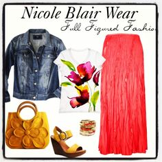 Full figured fashion #Spring #Summer #PlusSizeFashion