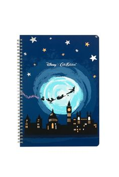 Midnight A4 Notebook from the #DisneyXCathKidston collection