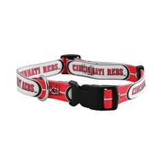 Hunter Mfg Cincinnati Reds Dog Collar Pet Training System - Large