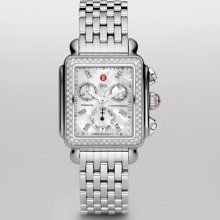 The things I would do for this watch!!!  MICHELE Signature Deco Diamond, Diamond Dial