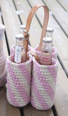 kuva Crochet Fashion, Diy And Crafts, Knit Crochet, Baby Shoes, Crochet Patterns, Tote Bag, Knitting, Handmade, Gifts