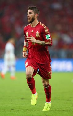 Sergio Ramos - Spain | The Best Beards Of The World Cup