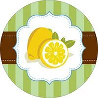 Free avery templates wedding green floral toile round labels free avery templates old fashioned lemons design round labels 12 per sheet pronofoot35fo Gallery
