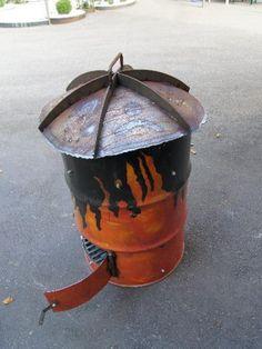Maronie Ofen Steel, Fire Pit Screen, Ice, Steel Grades, Iron