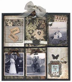 The smaller 7 gypsies print tray - family heritage