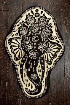 Bryn Perrott Elephant. 2014