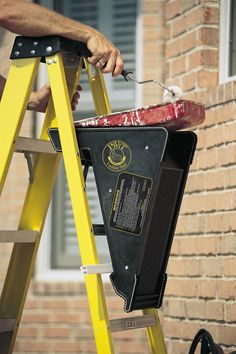 The PiViT Ladder Tool is the ultimate extension ladder leveler. This ladder leveler is a must have for any extension ladder owners. Roof Insulation, Insulation Board, Ladder Leveler, Ladder Stabilizer, Ladder Accessories, Ladder Stands, Roof Sealant, Asphalt Roof Shingles, Milwaukee Tools