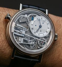 """Breguet Tradition 7087 Minute Repeater Tourbillon Watch Hands-On - by Zach Pina - on aBlogtoWatch.com """"2015 marked the 10th anniversary of the Breguet Tradition collection, an occasion which the brand chose to commemorate with a singular haymaker of a watch: the Breguet Tradition 7087 Minute Repeater Tourbillon. Though this watch was announced at Baselworld 2015, as we prepare for a fresh salvo of show-season announcements from the 240-year-old company, we revisit the 7087..."""""""