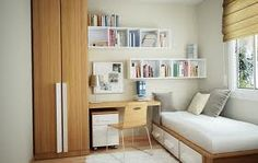 organization of a small room