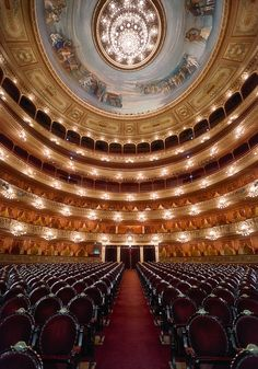 Opera Teatro Colón in Buenos Aires Argentina.
