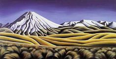 Tongariro by Diana Adams - the composition and texture is stunning.