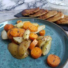 Inspiration til sunde opskrifter - 45 lækre og sunde opskrifter. – #Hashtagmor Potatoes, Vegetables, Desserts, Inspiration, Tailgate Desserts, Biblical Inspiration, Deserts, Vegetable Recipes, Veggie Food