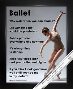 Ballet on Pointe Dance 8x10 Sport Poster Print