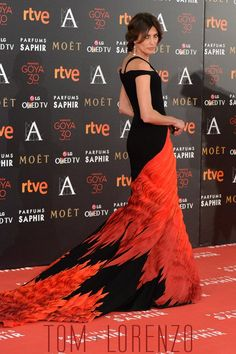 Nieves Alvarez in Georges Chakra Couture at the Goya Awards 2016