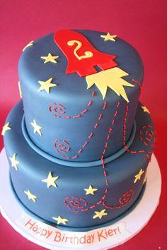 Birthday Cakes NJ - Rockets Custom Cake