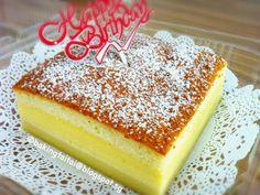 Baking Taitai: Magic Custard Cake 魔术卡士达蛋糕 (中英食谱)